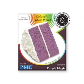 Purple Magic - Colourful Egg Free Cake Mix 500g
