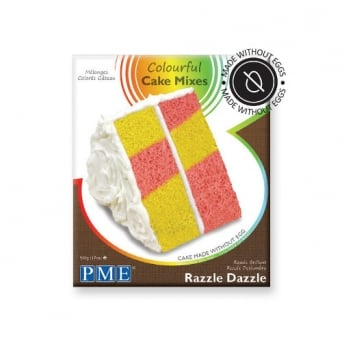 Razzle Dazzle - Colourful Egg Free Cake Mix 500g