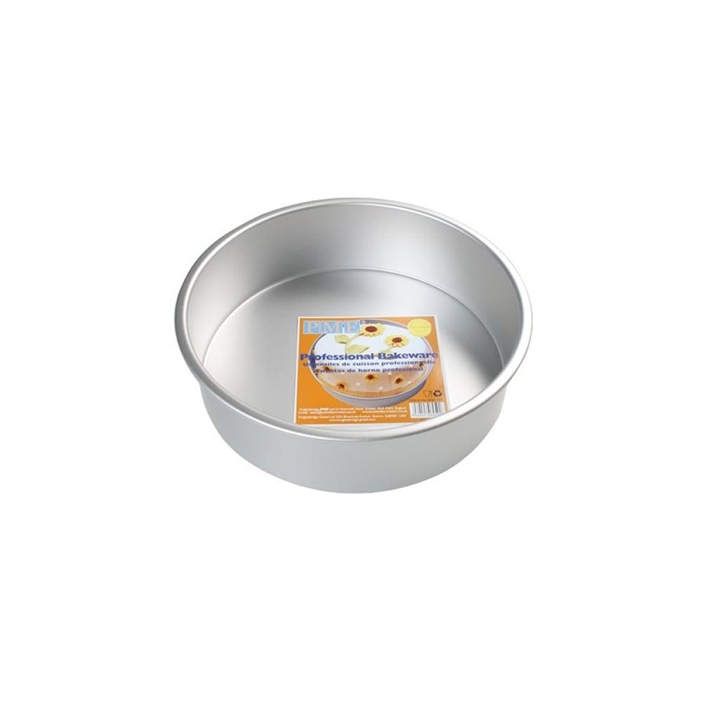 Pme Round 6 X 3 Inch Seamless Cake Pan Tin Baking