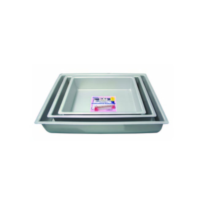 PME Oblong 10 x 15 x 2 Inch - Seamless Professional Baking Tin