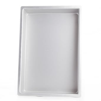 Oblong - 12 x 18 x 3 Inch - Seamless Baking Tin Pan