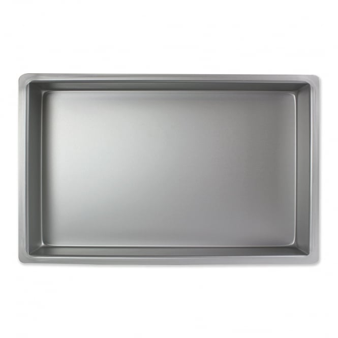 PME Oblong - 9 x 12 x 3 Inch - Seamless Professional Cake Pan Tin