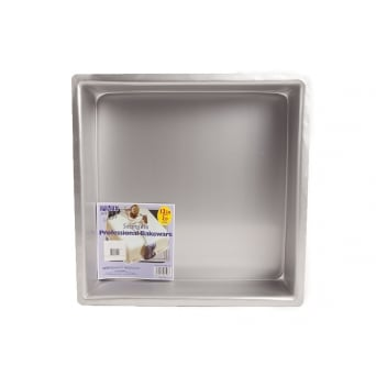 Square - 12 x 12 x 3 Inch - Seamless Cake Tin Pan