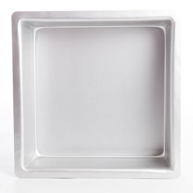 PME Square 4 x 4 x 4 Inch - Seamless Baking Tin Pan