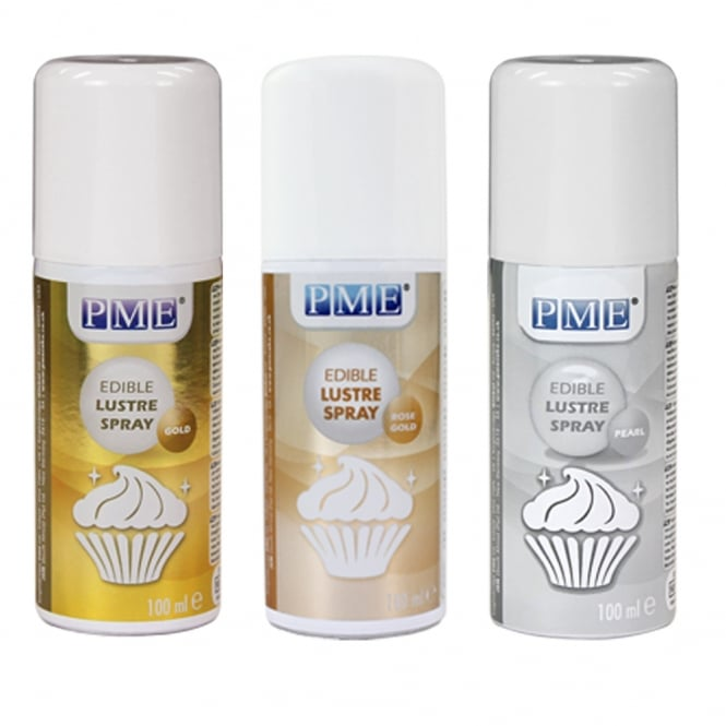 PME Set of 3 Lustre Sprays