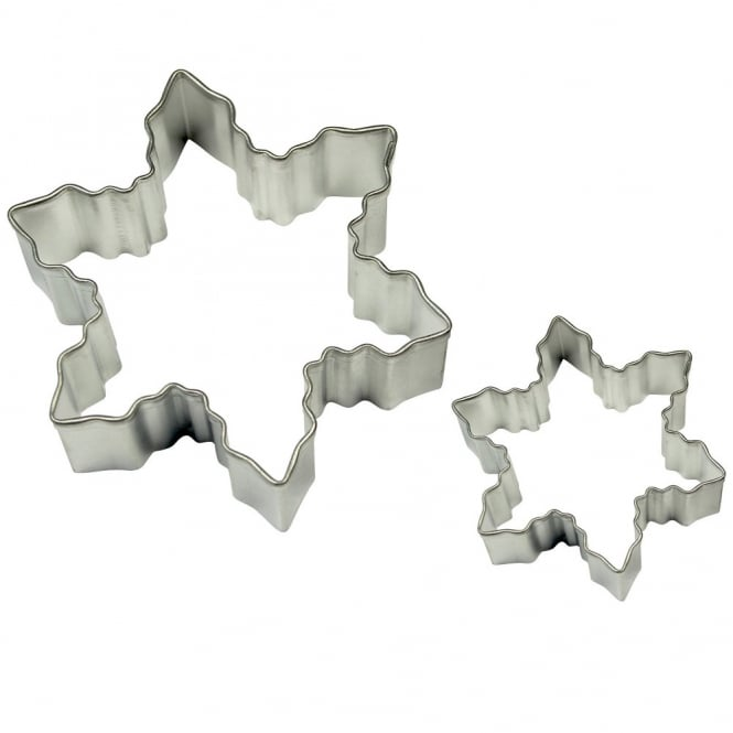 PME Snowflake Cake And Cookie Cutter Set Of 2
