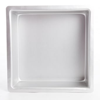 Square 10 x 10 x 3 Inch - Seamless Cake Tin Pan