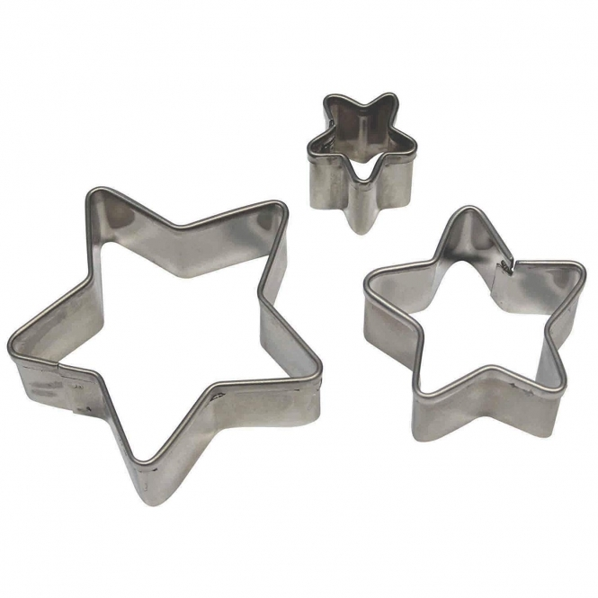 PME Star Cutter Set Of 3