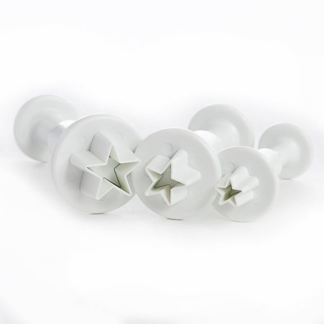 PME Star Plunger Cutters Set 3