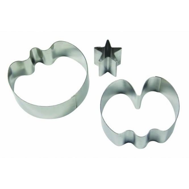 PME Sweet Pea Cutter Small Set 2 Plus Star Calyx Stainless Steel