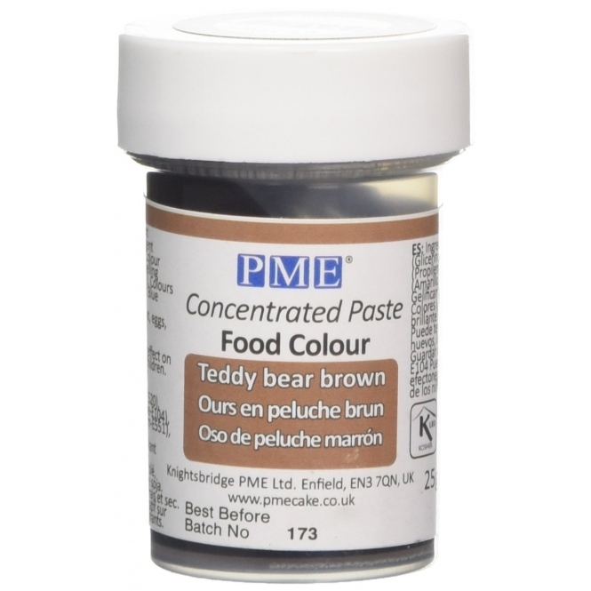 PME Teddy Bear Brown - Gel Paste Colouring
