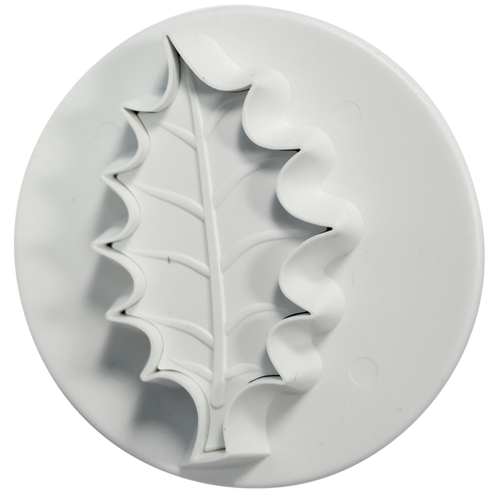 Cake Decorating Mini Holly Leaves : PME Veined Holly Leaf Plunger Cutter - Small - Tools ...