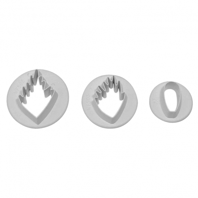 PME Wood Anemone Wild Flower Cutter Set Of 3