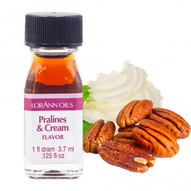 LorAnn Pralines And Cream - Oils - 1 Dram Food Flavouring Oils