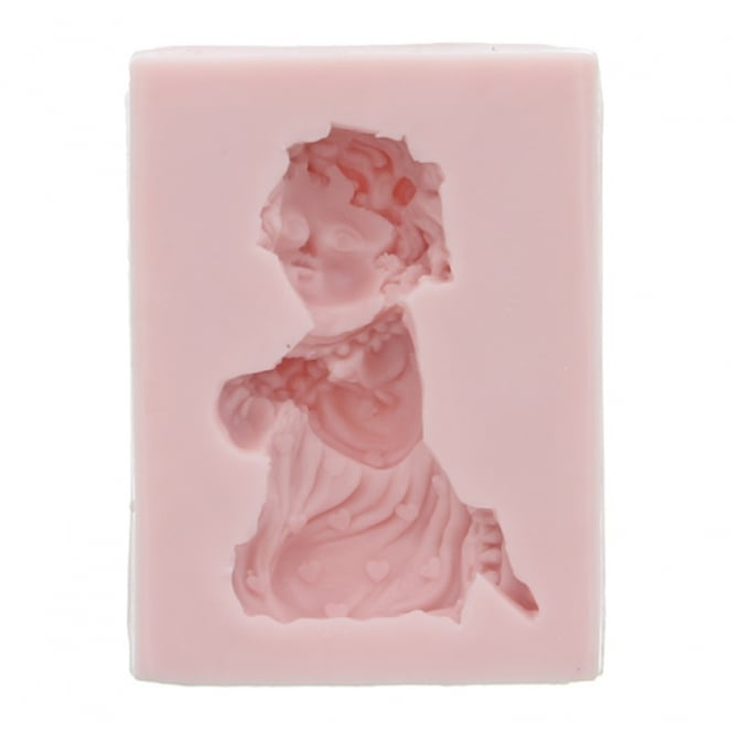 Sunflower Sugar Art Praying Girl Mould By