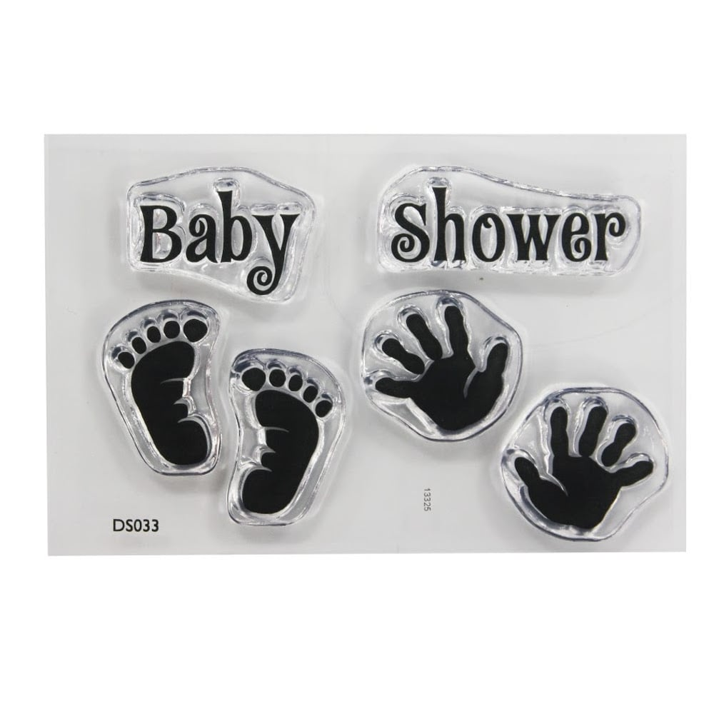 Superb ImpressIt Baby Shower Stamp Set