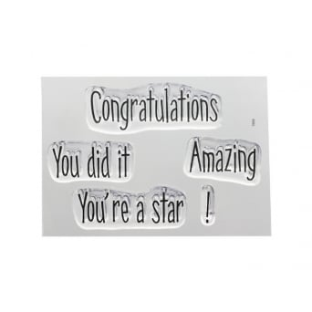 ImpressIt Congratulations Stamp Set