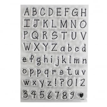 ImpressIt Dotty Alphabet Stamp Set