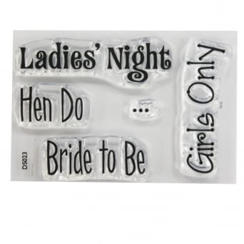 ImpressIt Ladies Night Stamp Set