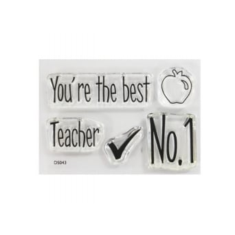 ImpressIt Teacher No. 1 Stamp Set