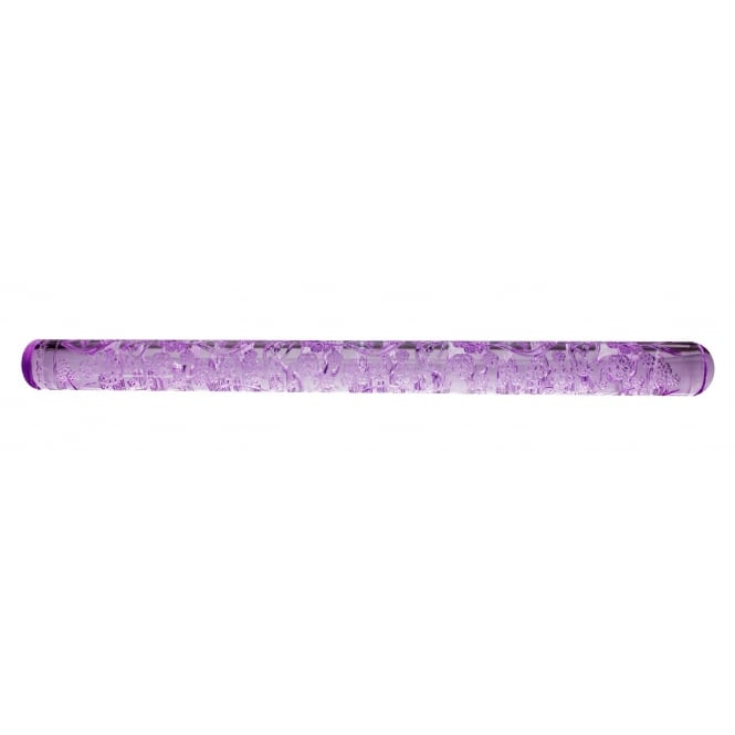 Purple Cupcakes Vintage Vine Textured Rolling Pin