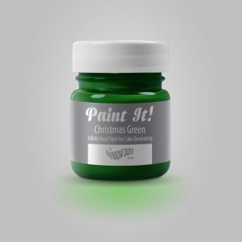 Christmas Green - Paint-It 25ml Edible Paint