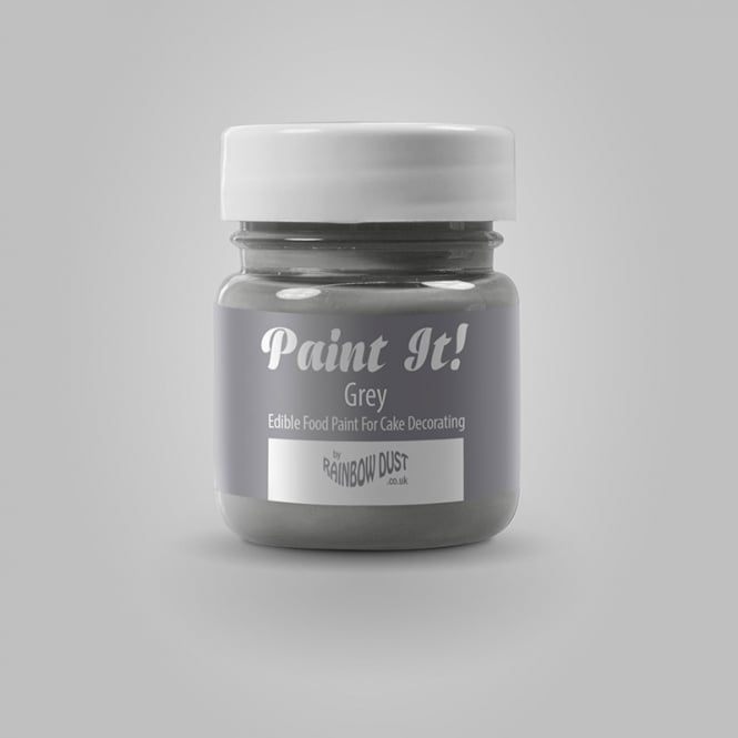 Rainbow Dust Grey - Paint-It 25ml Edible Paint