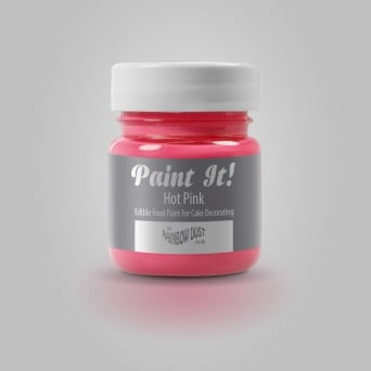 Hot Pink - Paint It 25ml Edible Paint
