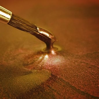Metallic Dark Gold - Food Paint 25ml