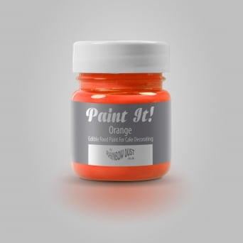 Orange - Paint-It 25ml Edible Paint