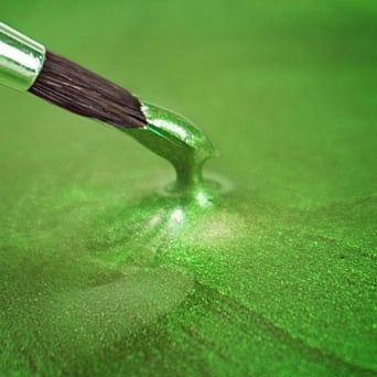 Pearlescent Spring Green - Food Paint 25ml