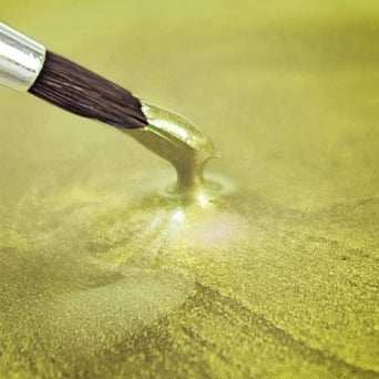 Pearlescent Yellow - Food Paint 25ml