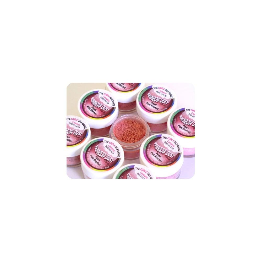 Rainbow Dust Edible Cake Glitter Decoration CHOOSE ANY FROM SILK PEARL RANGE