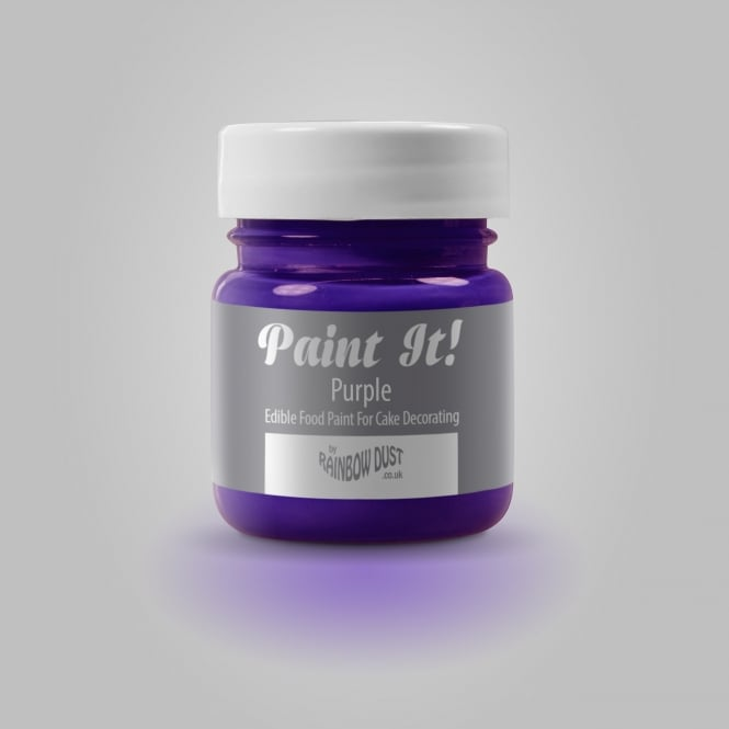 Rainbow Dust Purple - Paint-It 25ml Edible Paint