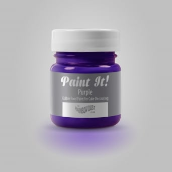 Purple - Paint-It 25ml Edible Paint