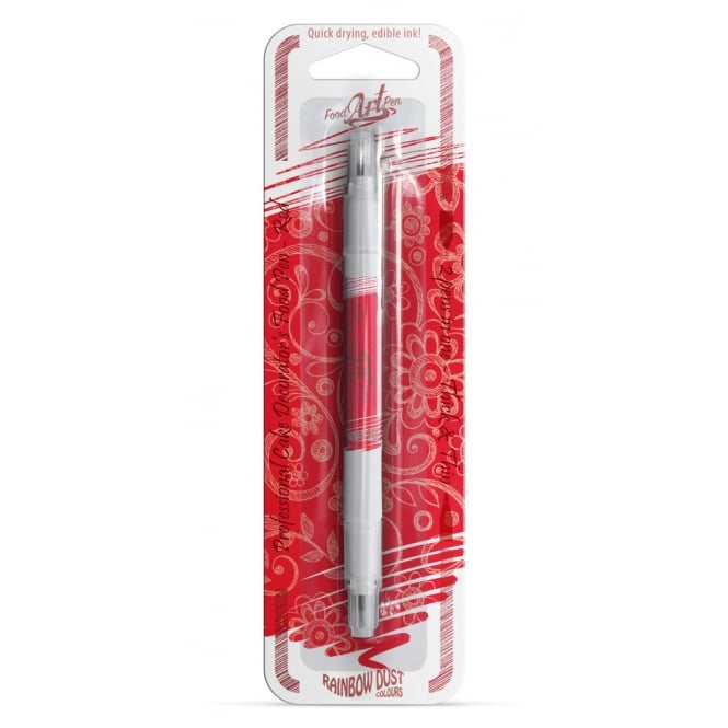 Rainbow Dust Red Edible - Double-ended Food Art Pen 5g