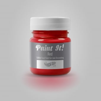 Red - Paint-It 25ml Edible Paint