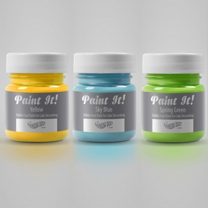 Rainbow Dust Sky Blue - Paint It 25ml Edible Paint