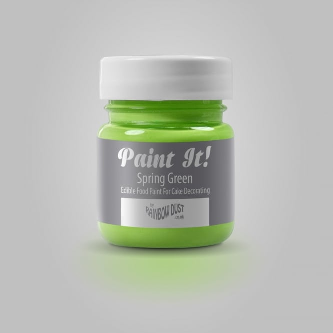Rainbow Dust Spring Green - Paint-It 25ml Edible Paint