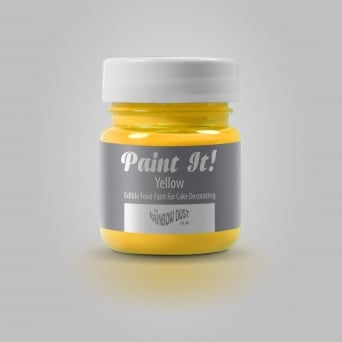 Yellow - Paint-It 25ml Edible Paint