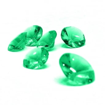 Emerald Green Edible Rainbow Jewels Pack Of 24 - Rainbow Dust