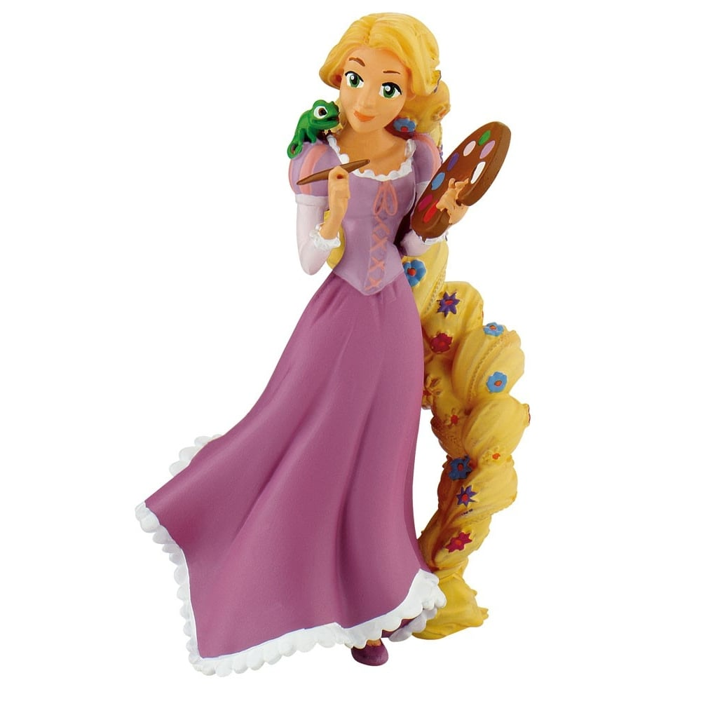 Rapunzel Painting Disney Cake Figure