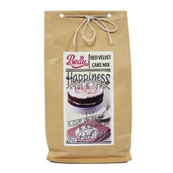 Red Velvet Cake Mix 1KG - Beau Products