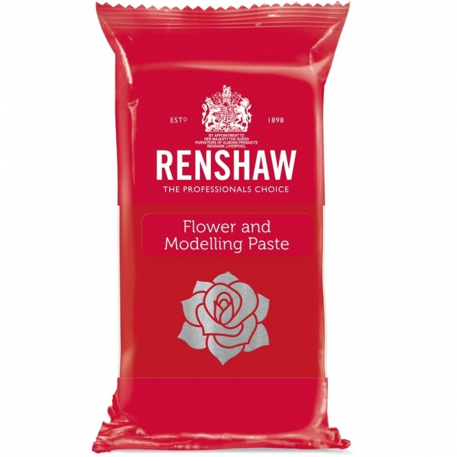Renshaw Carnation Red – Flower And Modelling Paste 250g