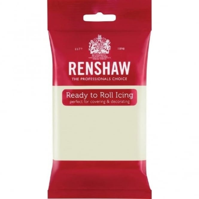 Renshaw Celebration Ivory - Regal Ice Sugarpaste Ready To Roll Fondant 1kg
