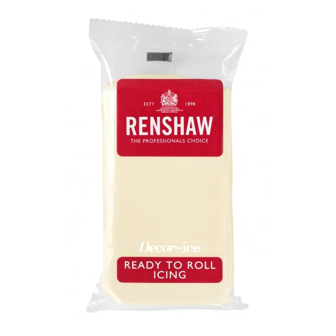 Renshaw Celebration Ivory - Regal Ice Sugarpaste Ready To Roll Fondant 500g