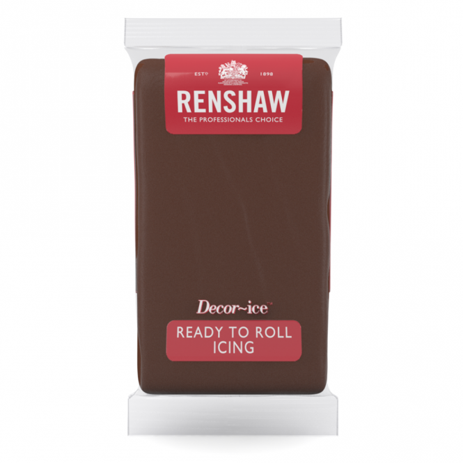 Renshaw Chocolate - Regal Ice Sugarpaste Ready To Roll Fondant 1KG