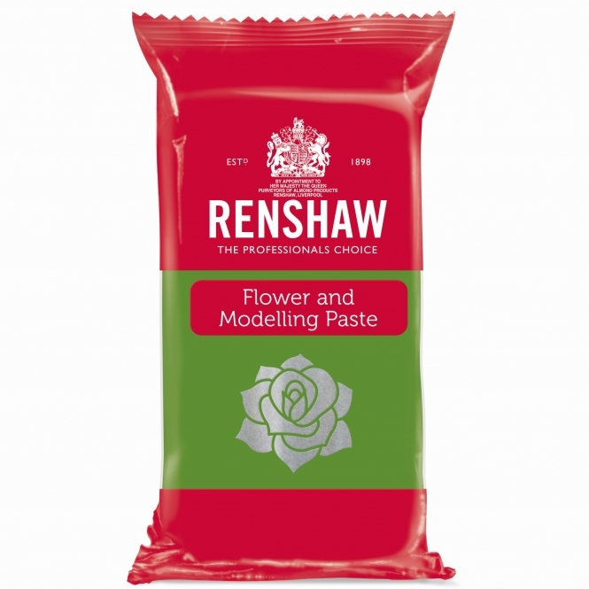Renshaw Grass Green - Flower And Modelling Paste 250g