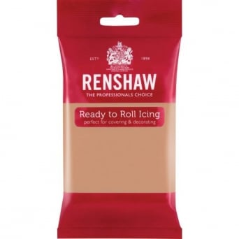 Skin Tone - Regal Ice Sugarpaste Ready To Roll Fondant 250g