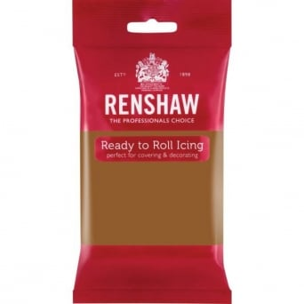 Teddy Brown - Regal Ice Sugarpaste Ready To Roll Fondant 250g